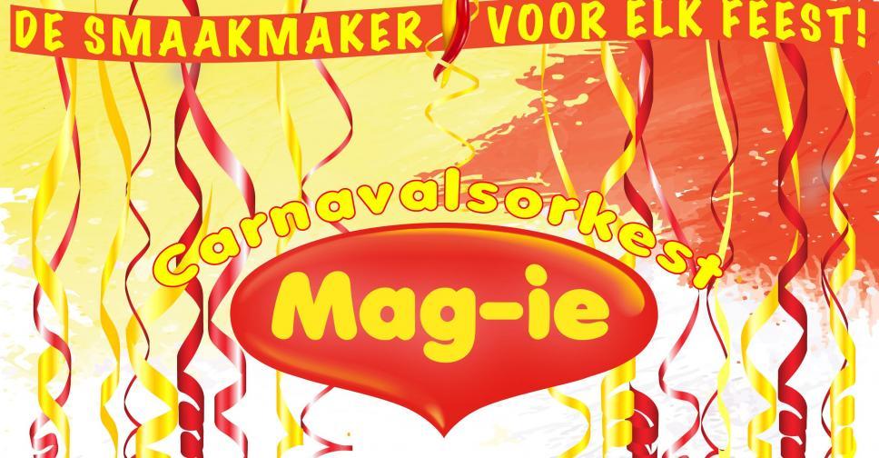 Sponsor Carnavalsorkest Mag-ie gratis!