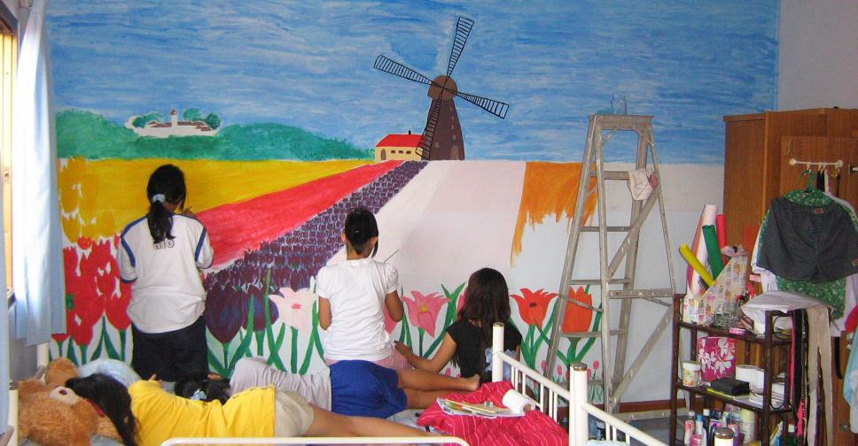 Vakantieweek voor Thais meisjes tehuis.