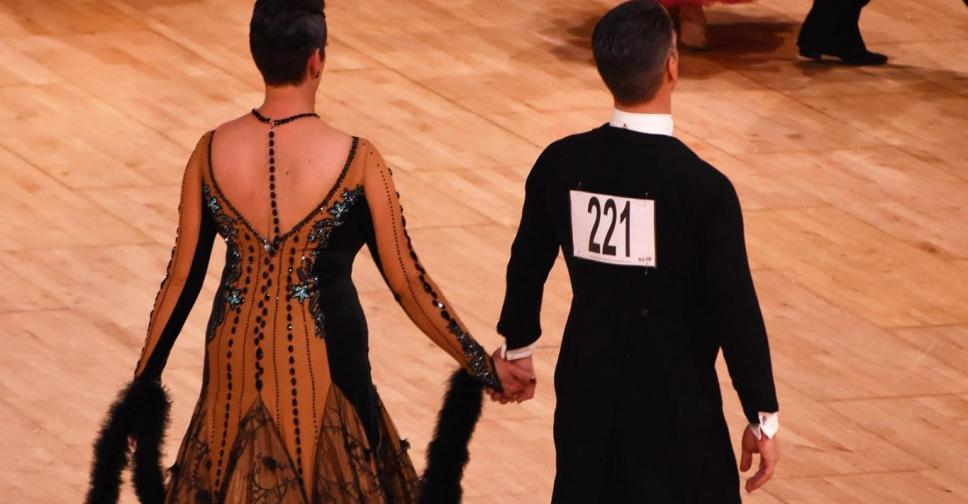 Sponsor Danspaar Ronny en Anne Romijn