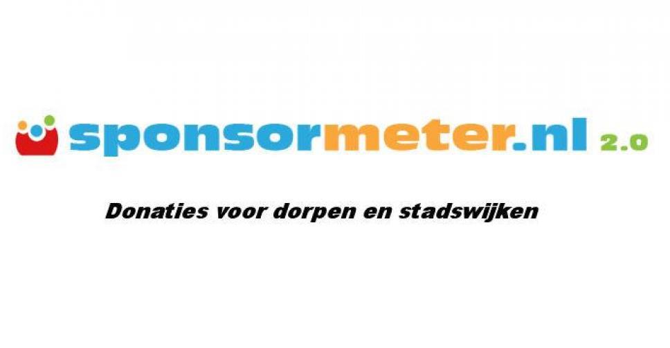 Doneer voor donaties van sponsormeter.nl!