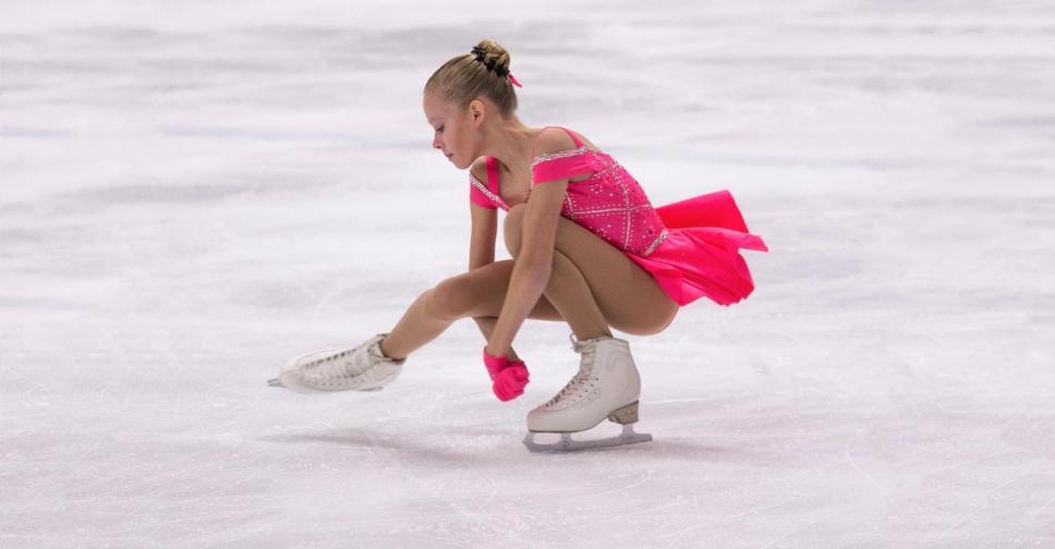 Sponsor Jolanda Vos figure skater