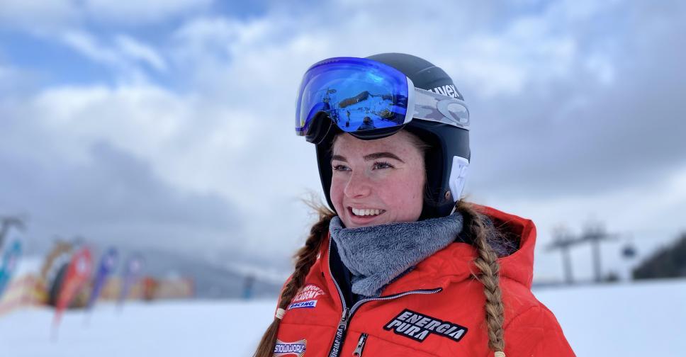 Skiracer Kiara Derks