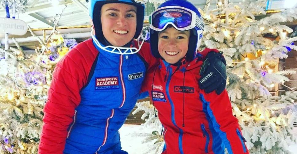 Sponsor Skiracers Calum & Estelle!