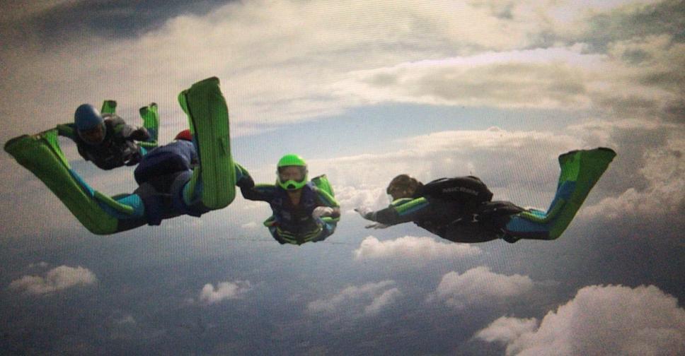 Sponsor Funky Falcon Skydive Team