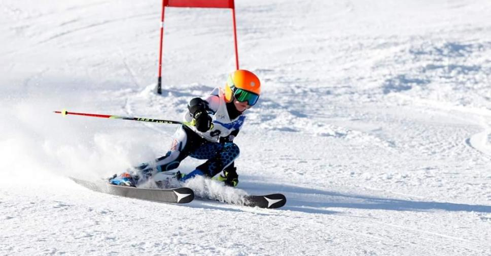 Sponsor Mats Mulders skiracer